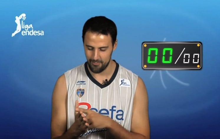 VIDEO: Germán la lía en el concurso Liga Endesa