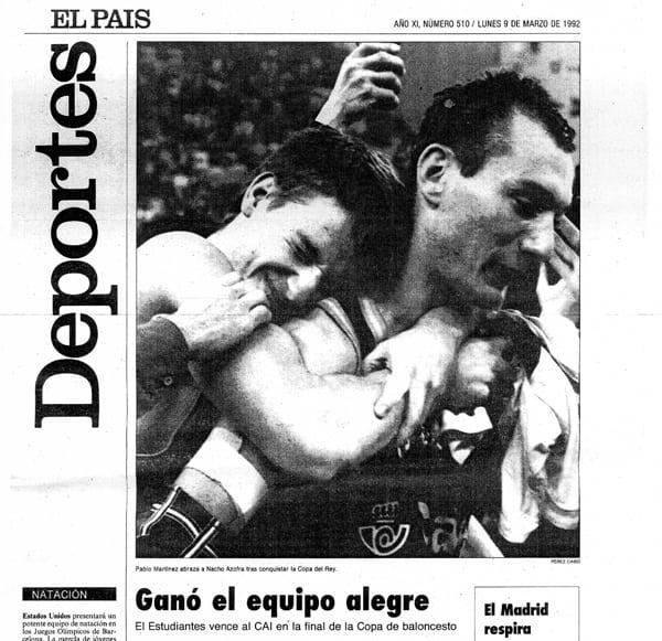 """25 años del mágico 92 (3): """"Nacho, ¿estás para jugar?"""" La Copa de Granada"""