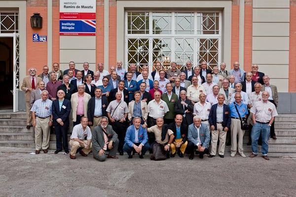 """Los """"ramireños"""" del 62 celebran su 50º aniversario colaborando con la Fundación"""