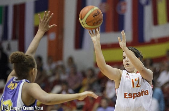 Rocío Trigueros pierde en cuartos de final ante Serbia (60-64)