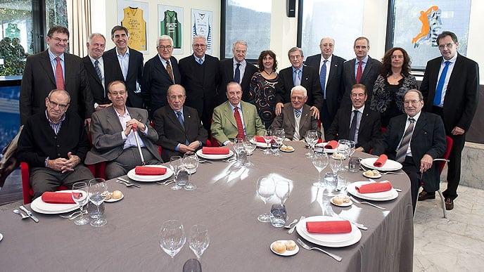 Los fundadores de la ACB celebran su 30 aniversario