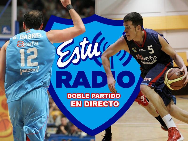 Domingo de carrusel en EstuRadio: EBA desde Magariños, ACB desde Zaragoza