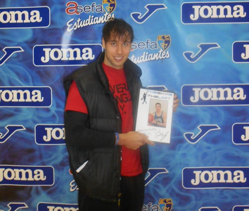 El MVP quiere celebrar los 32 años con victoria en Zaragoza ¡felicítale!
