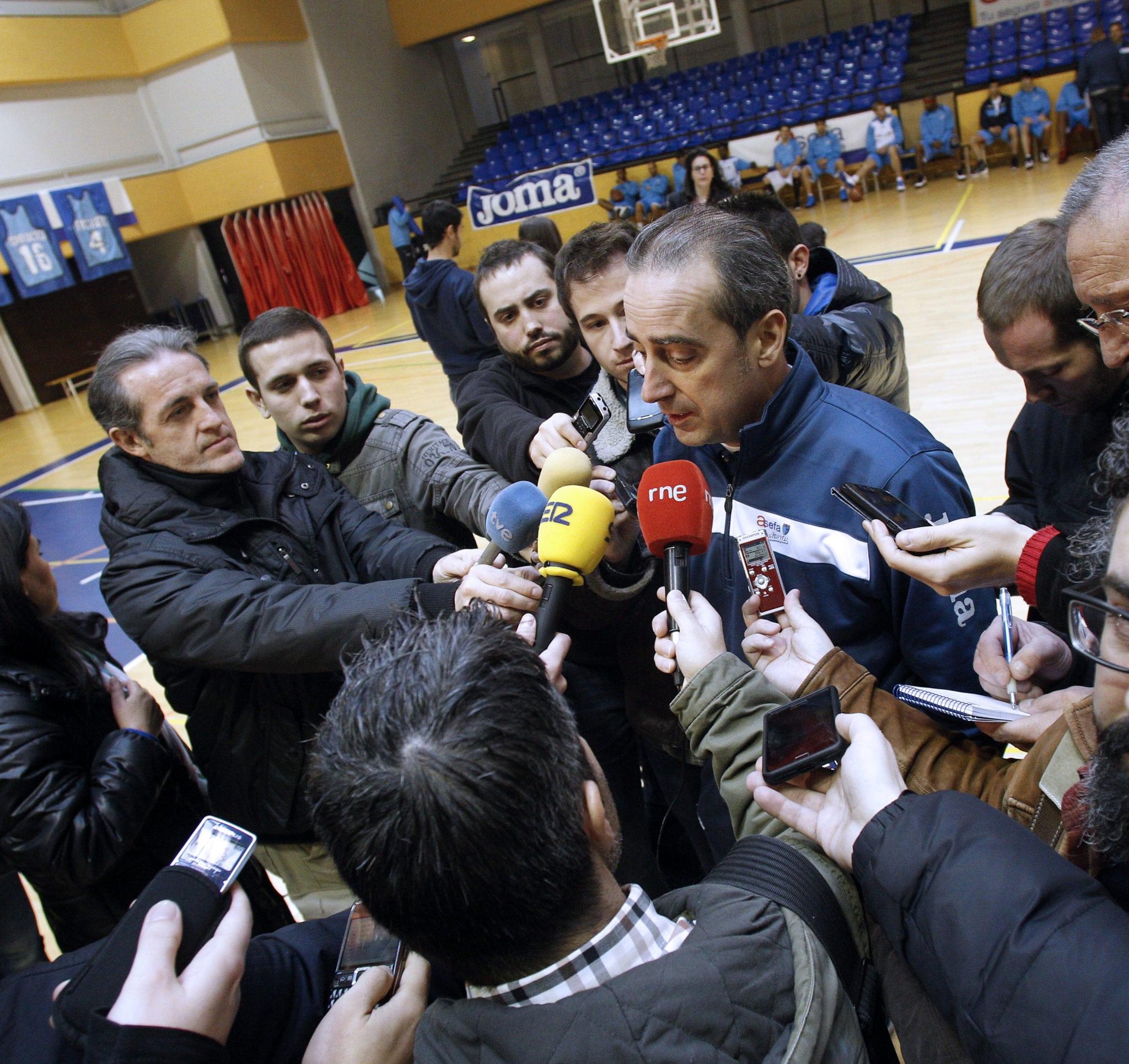 """Vidorreta: """"Vamos a Vitoria con la determinación de competir al máximo el primer partido y la ilusión de jugar tres"""""""