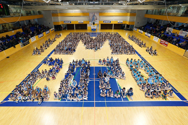 La gran familia de Asefa Estudiantes, con Madrid 2020