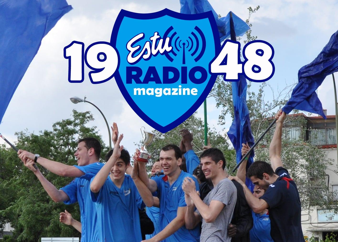 Un magazine plateado, rosa y azul. Escucha ya el podcast