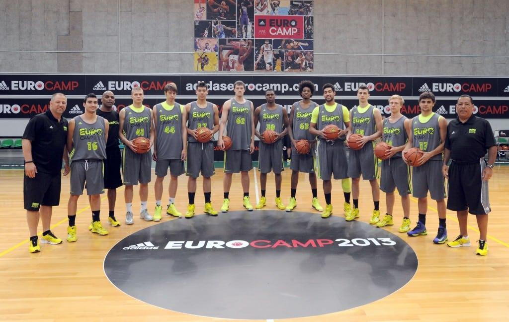 Jaime y Lucas juegan juntos en el mismo equipo del Eurocamp de Treviso