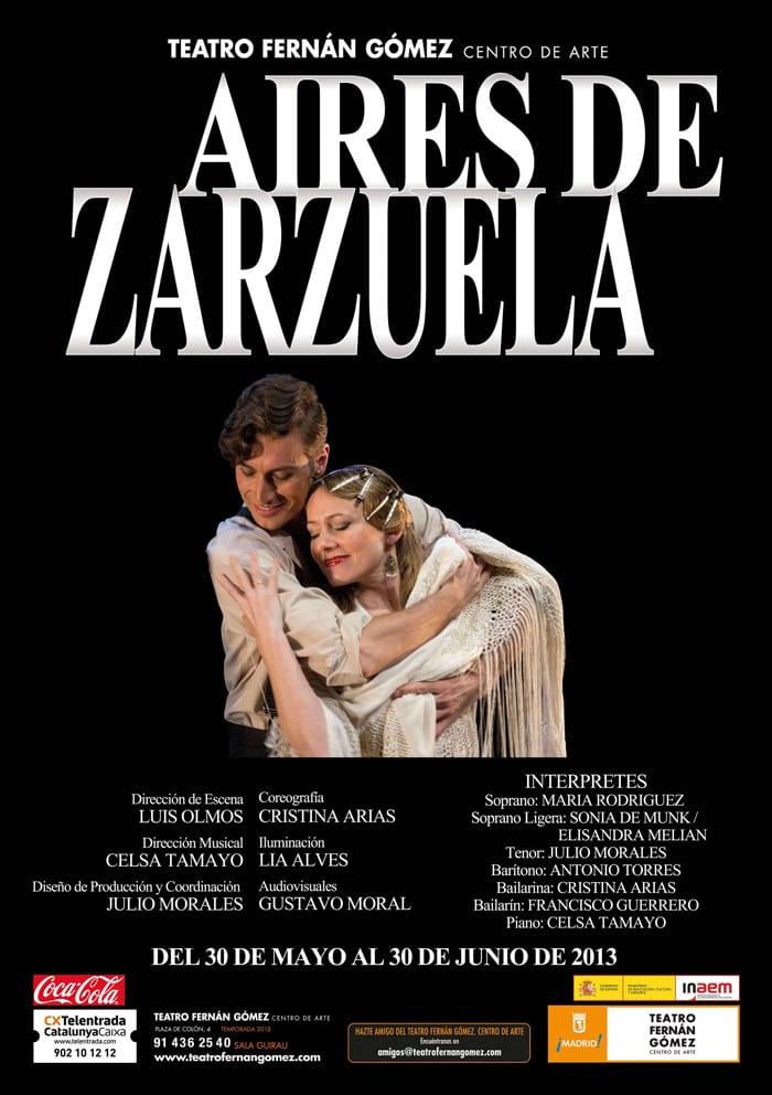 Aires de Zarzuela, con 16% de descuento en el Teatro Fernán Gómez