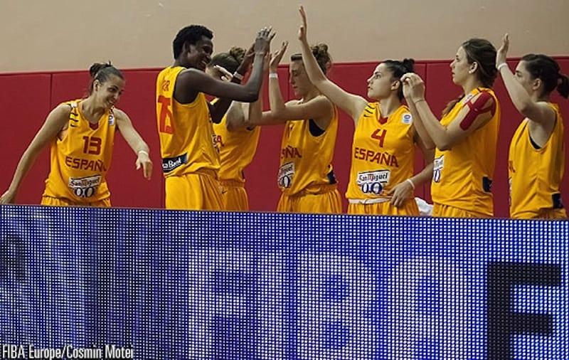 Europeo Sub-20 Femenino: España se clasifica para la 2ª fase tras superar a Eslovaquia (62-52)