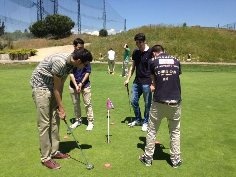 Los alumnos del Máster en Derecho y Gestión del Deporte visitaron la Federación de Golf
