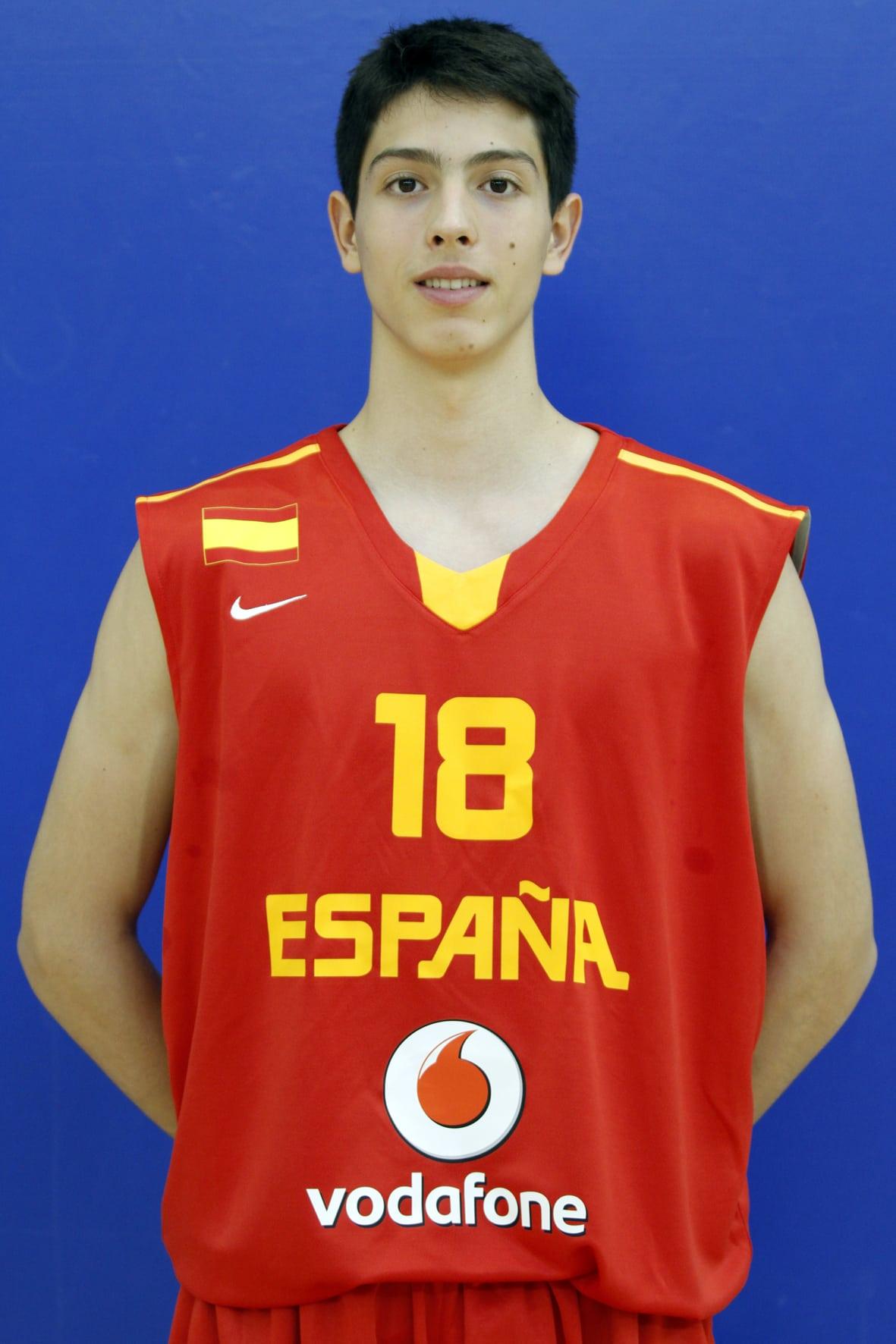 Jorge Alonso, el último descarte de la española U16