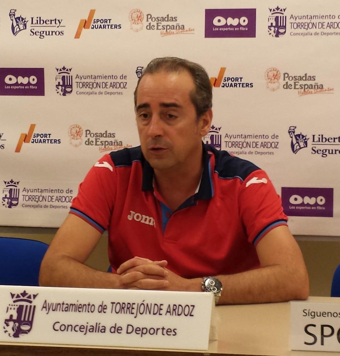 """Txus Vidorreta: """"Hoy he sentido mucho espíritu, buena química y buen feeling. El balance del partido es muy satisfactorio"""""""