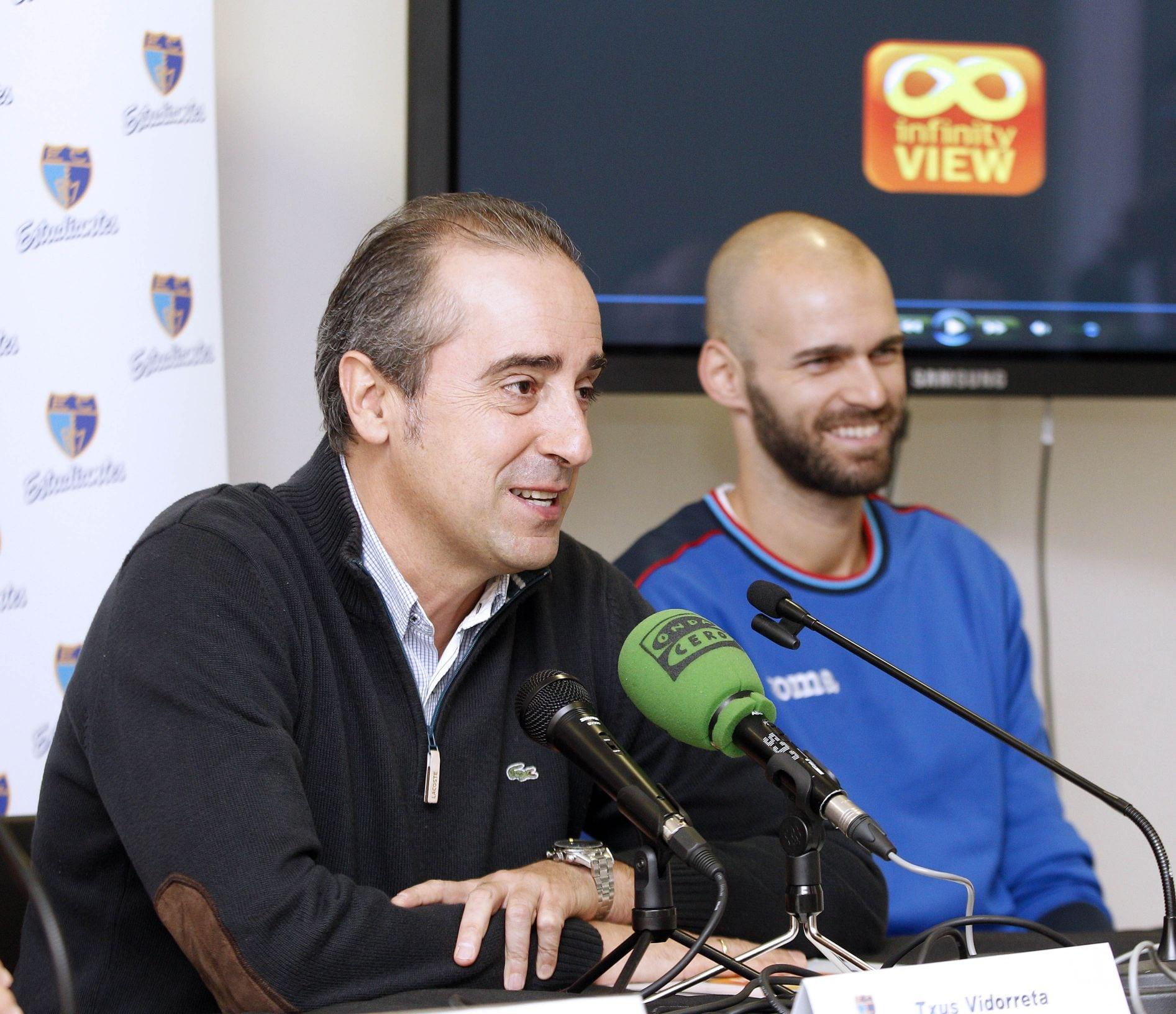 """Txus Vidorreta: """"Hacemos una propuesta de baloncesto que gusta al aficionado"""""""