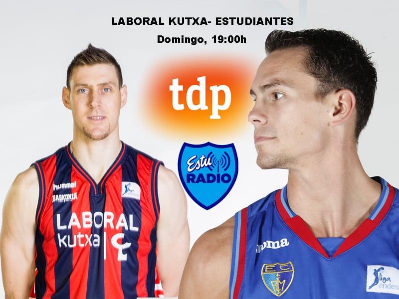 Laboral Kutxa- Estudiantes: se presenta un partido igualado en Vitoria (19:00h, Teledeporte y EstuRadio)