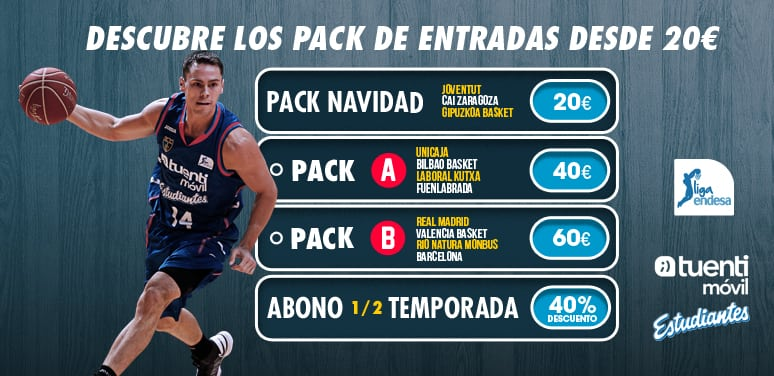 Abono de media temporada y packs de entradas