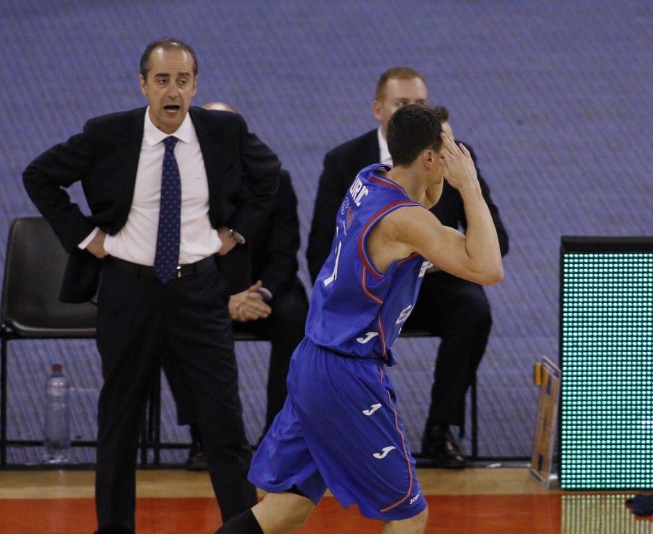"""Vidorreta: """"Este partido es un buen reflejo de la temporada: dependíamos mucho de Kyle Kuric. Cuando apareció jugamos mejor"""""""