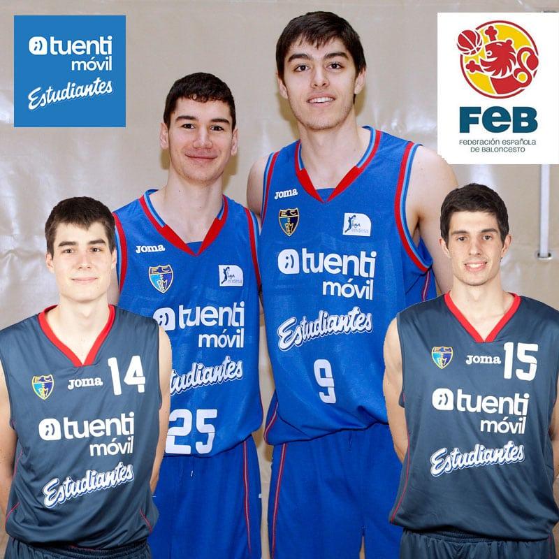 Cuatro estudiantiles en la española U20: Vicedo, Hernangómez, Brizuela y Martínez