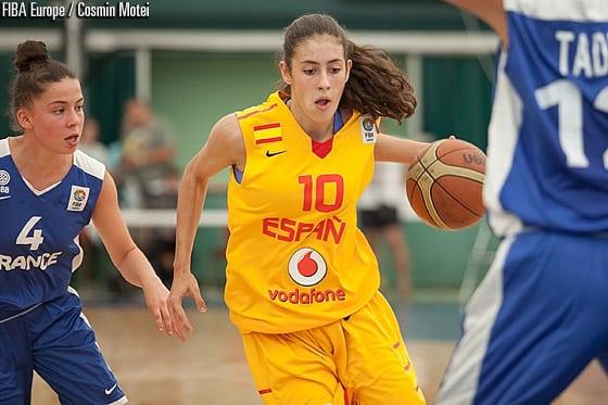 La estudiantil María Conde, lista para el Mundial U17 Femenino en República Checa