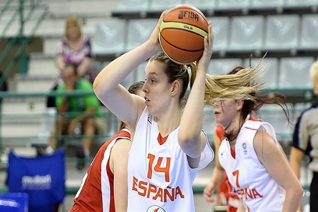 Sara Zaragoza ya está en cuartos y ahora quiere ser primera de grupo del Europeo U18F con España