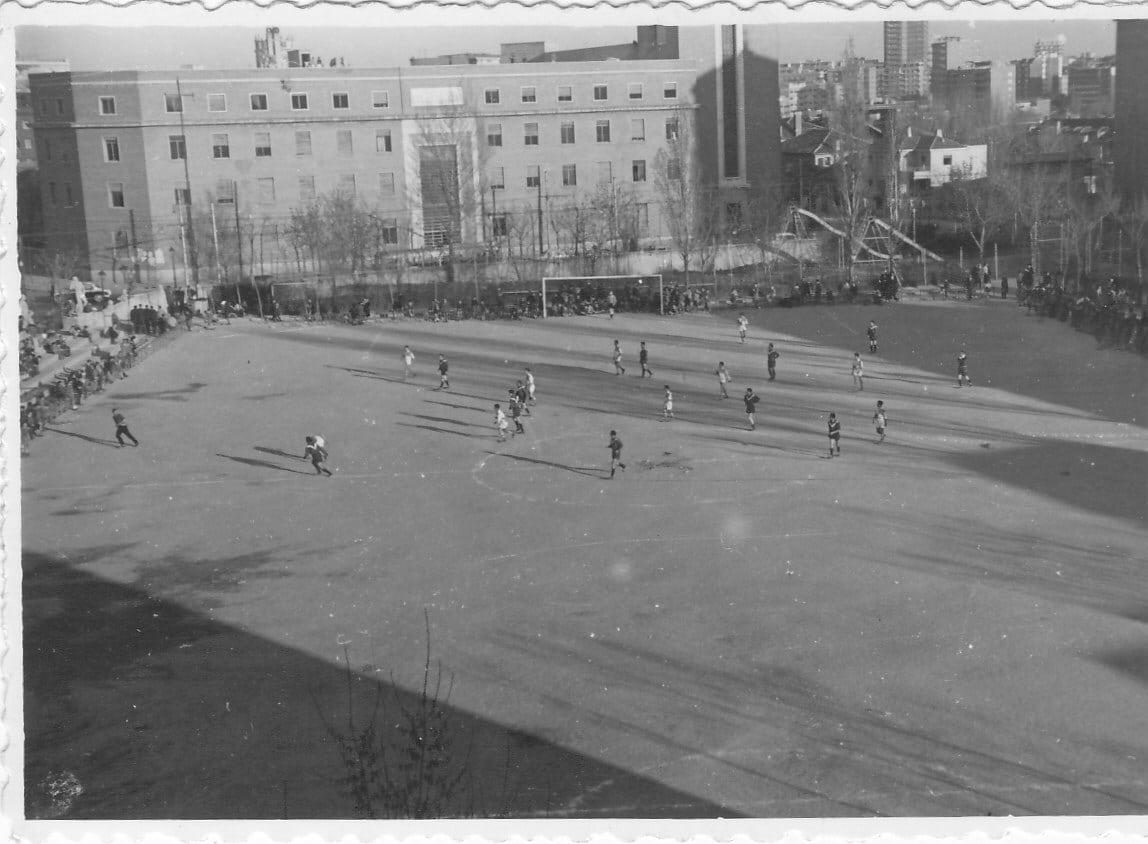 Estuhistorias de verano: cuando el templo del basket era un campo de fútbol