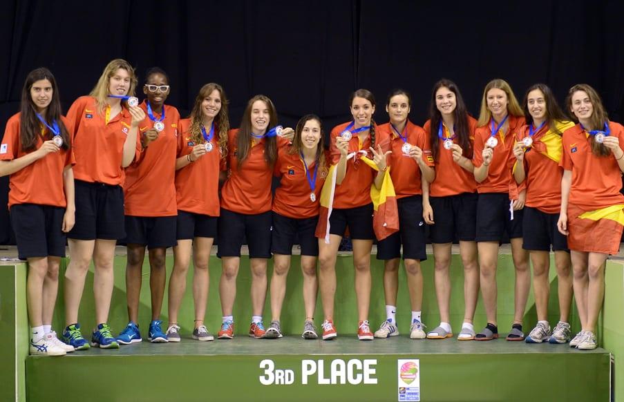 Segunda medalla del verano para Sara Zaragoza: bronce del Europeo U18