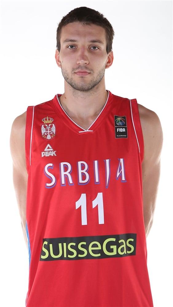 Stefan Bircevic, descartado para el Eurobasket con Serbia