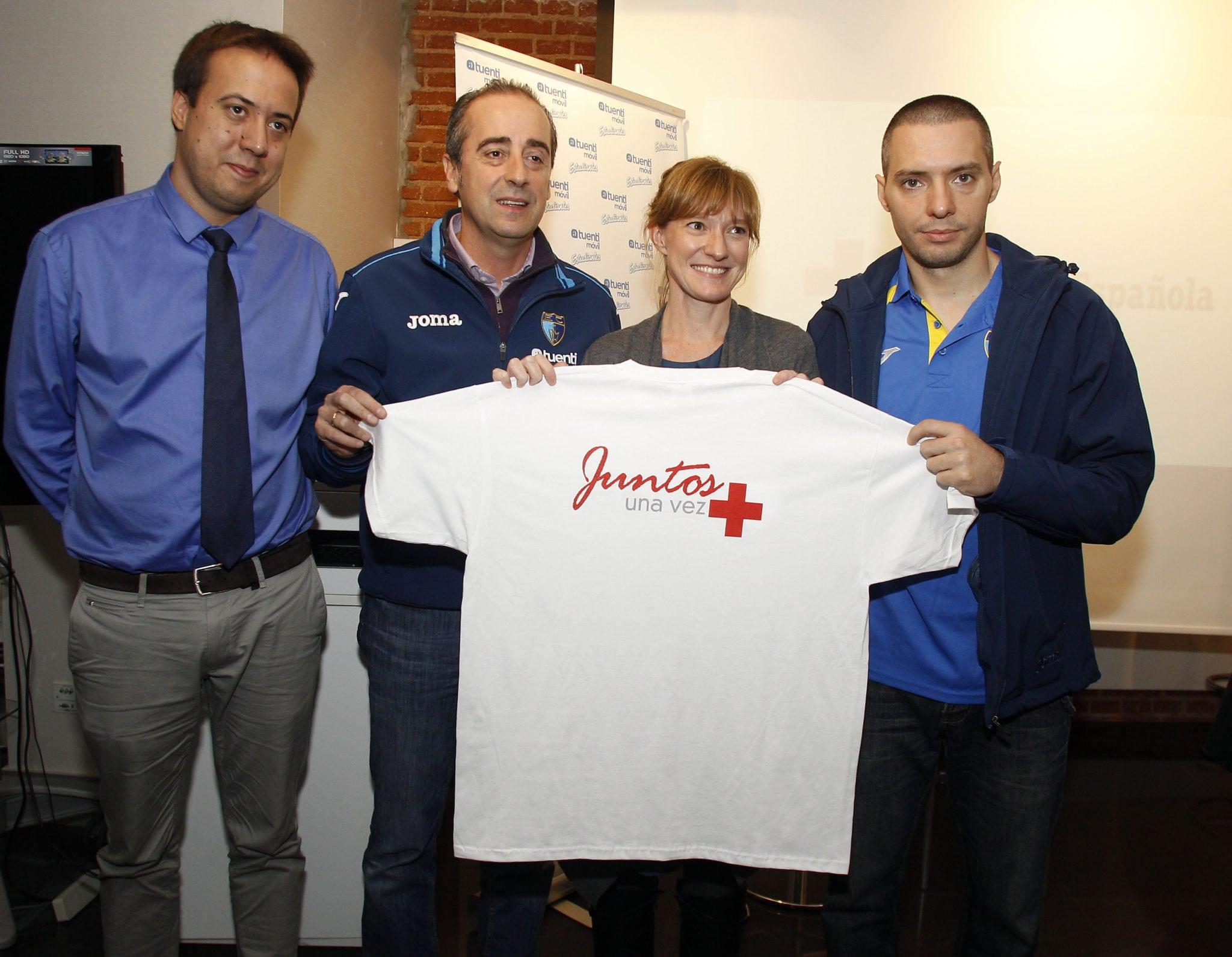 Cruz Roja Madrid y Fundación Estudiantes celebran cinco años de colaboración: homenaje a 500 voluntarios en el partido del domingo