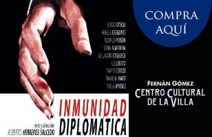"""Descuento en """"Inmunidad diplomática"""" en el Teatro Fernán Gómez con tu abono"""