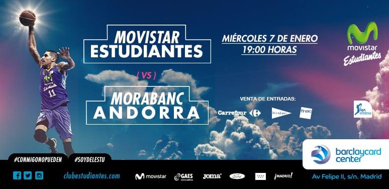 Dos entradas (sectores sin numerar) para cada abonado en el partido contra Morabanc Andorra, nuestro regalo de Reyes