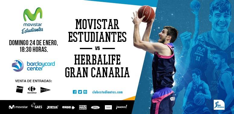 Entradas vs Herbalife Gran Canaria. Entre 10 y 60 euros. Regalo de entrada abonados que vengan a oficinas