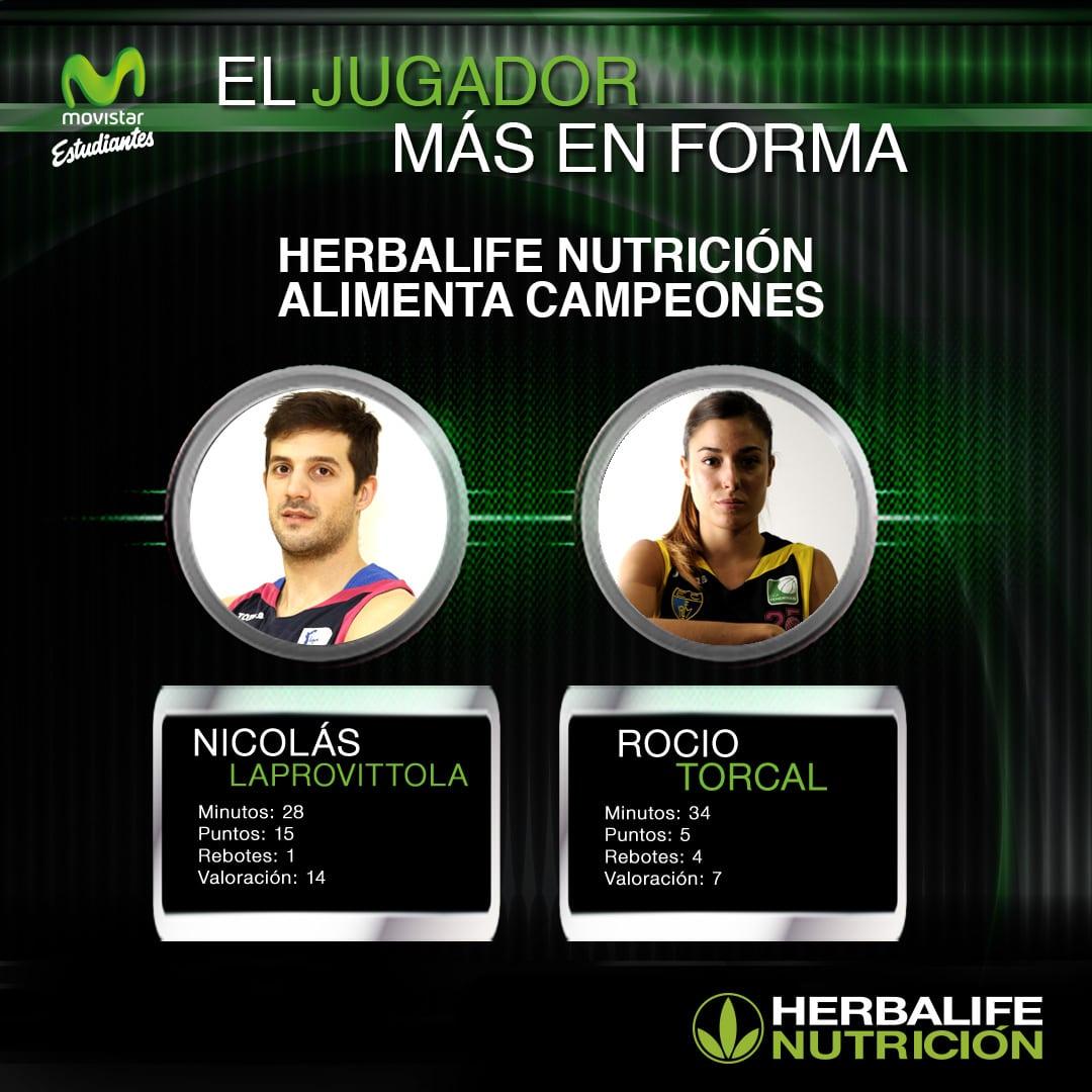 Herbalife presenta a los jugadores más en forma: Laprovittola y Torcal