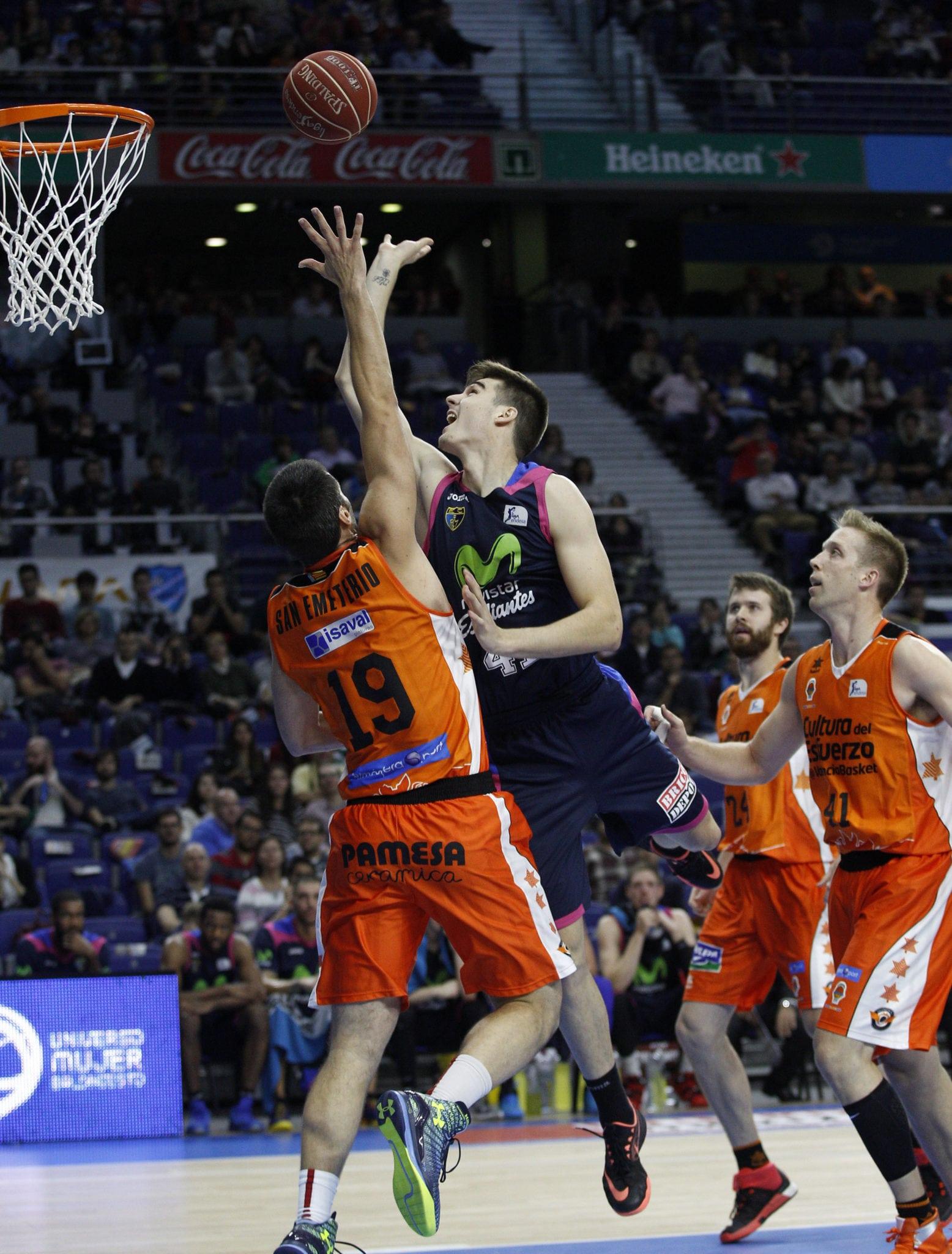 Juancho Hernangómez, Diamon Simpson y Jaime Fernández protagonistas de las curiosidades ante Valencia Basket