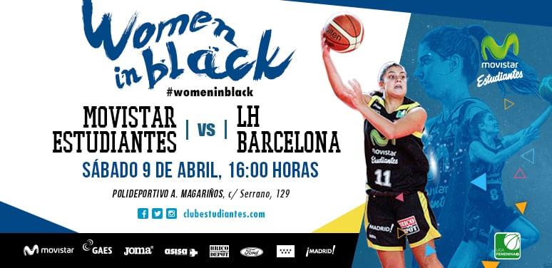 """Las """"women in black"""" se despiden de su afición el sábado 9 a las 16h ante Lima- Horta Barcelona"""