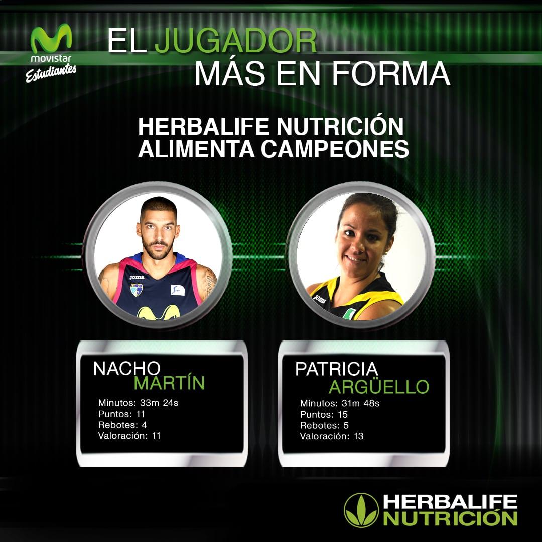 Herbalife presenta a los jugadores más en forma: Nacho Martín y Patri Argüello