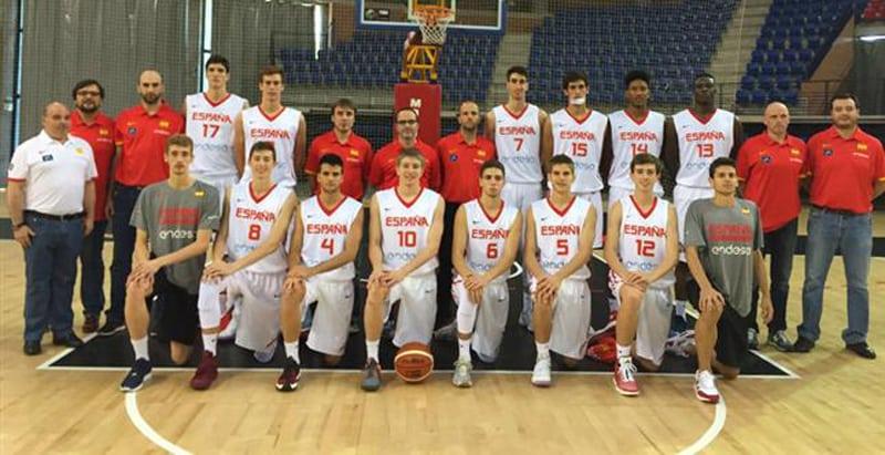 Los junior Alberto Maura y Bernat Vanaclocha empiezan la preparación con la selección española U18 masculina