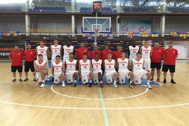 Un combinado de cantera de Movistar Estudiantes ayudará en la preparación de la selección española U16M