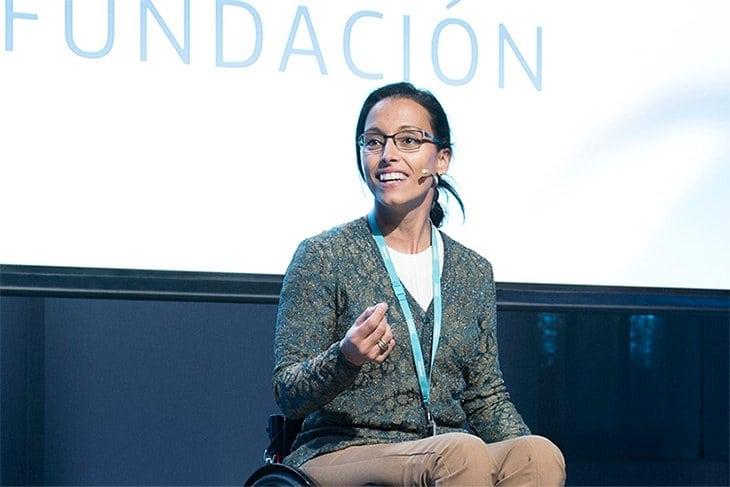 La nadadora Teresa Perales hará el saque de honor en el Movistar Estudiantes- Real Betis Energía Plus