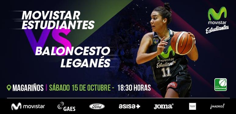 Derbi de Liga Femenina 2 contra Leganés el sábado a las 18:30h en Magariños. Entrada libre