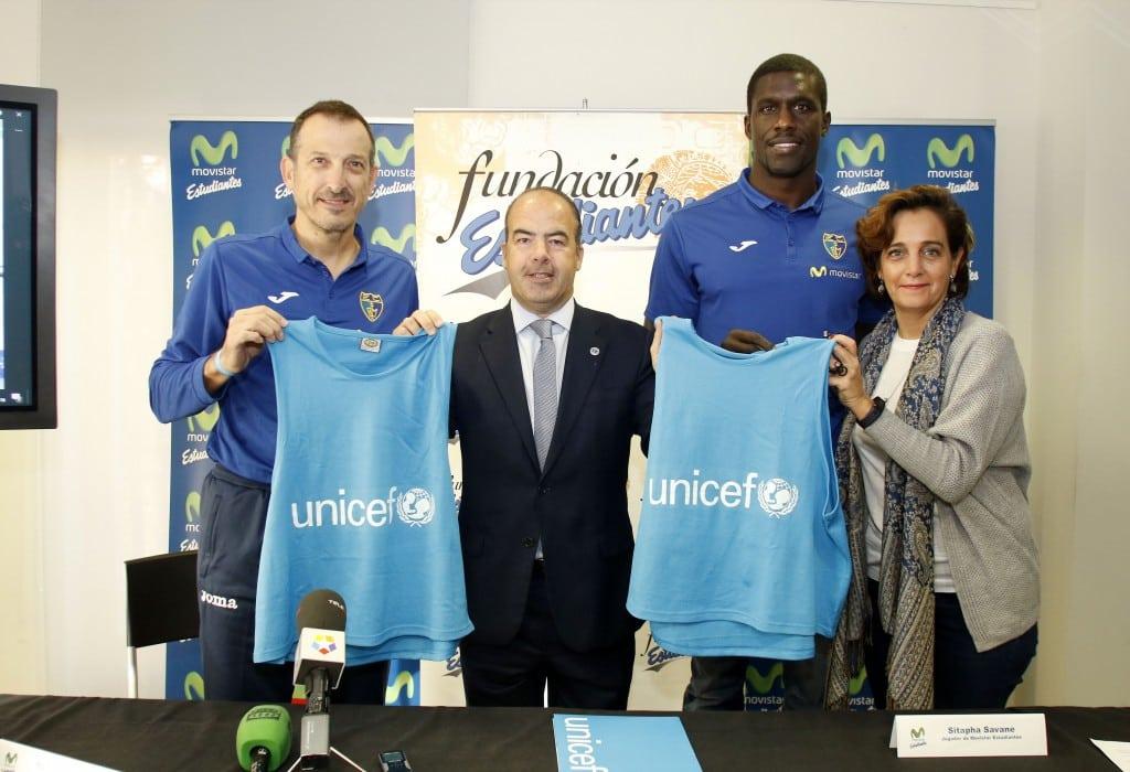 """El partido contra la Penya será solidario con la campaña """"Uno más uno, es mucho más"""" de UNICEF"""