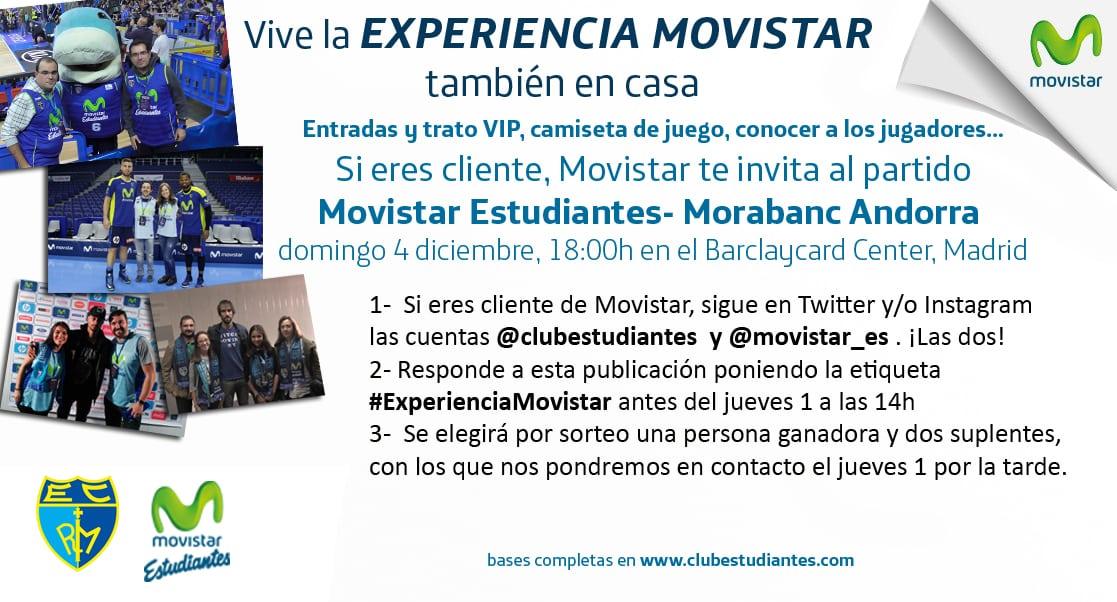 Si eres cliente Movistar… ¡vive el partido contra Andorra como todo un VIP con la Experiencia Movistar! Participa en Twitter o Instagram