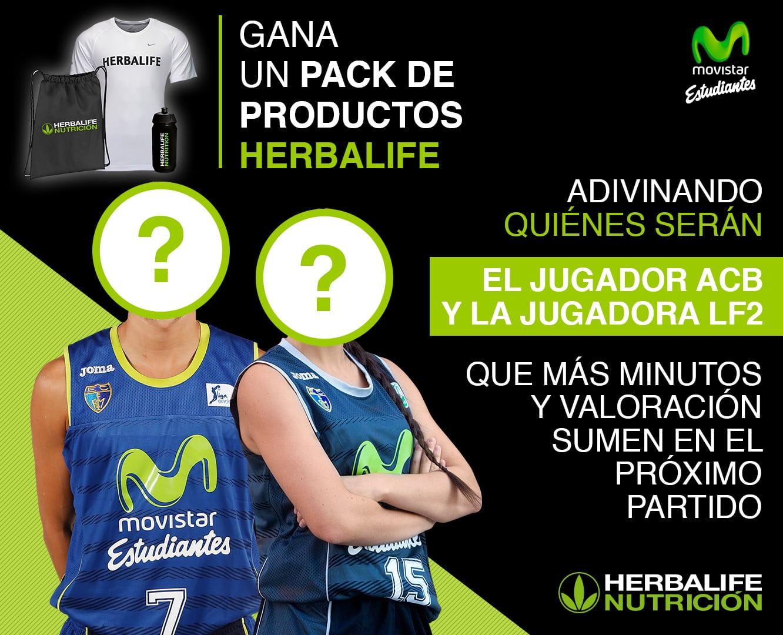 Adivina quiénes serán los Jugadores Herbalife en Liga Endesa y Liga Femenina 2 ¡en juego un pack de productos Herbalife!