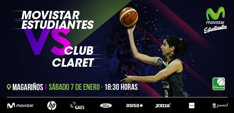 Vuelve la Liga Femenina 2: Movistar Estudiantes recibe el sábado en Magariños al Picken Claret (18:30h, entrada libre)