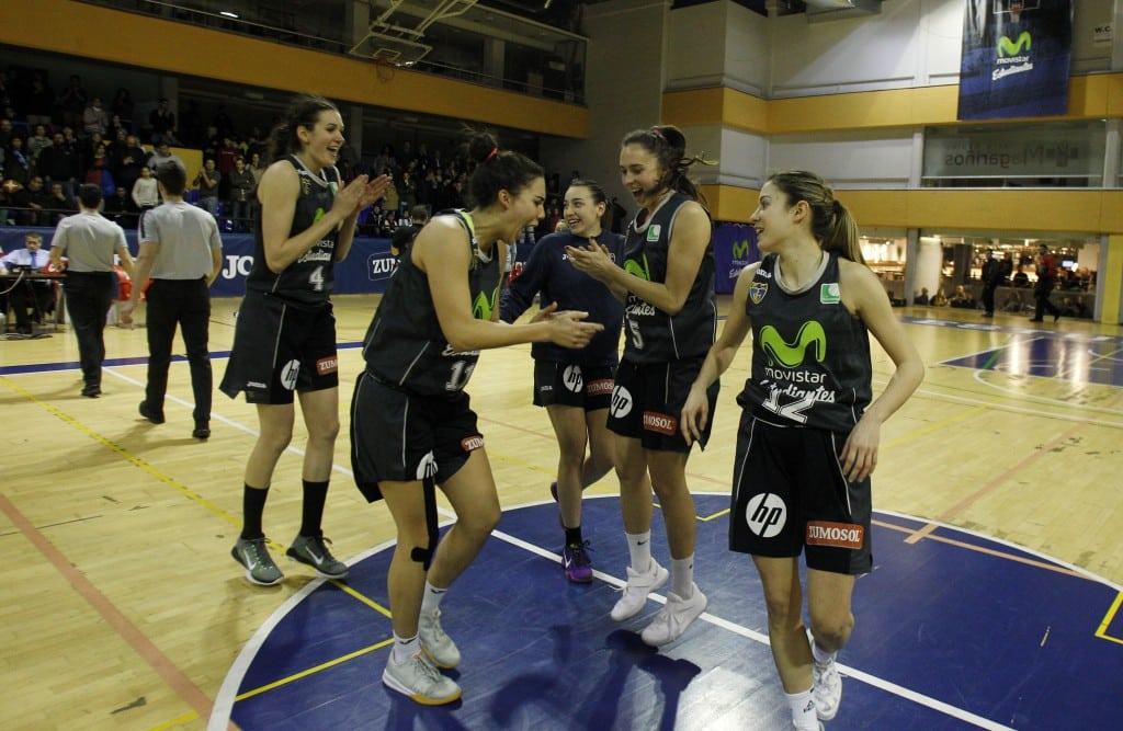 Fiebre del viernes noche para el penúltimo partido en casa de Liga Femenina 2: Movistar Estudiantes- Olímpico 64 Colegio Santa Gema