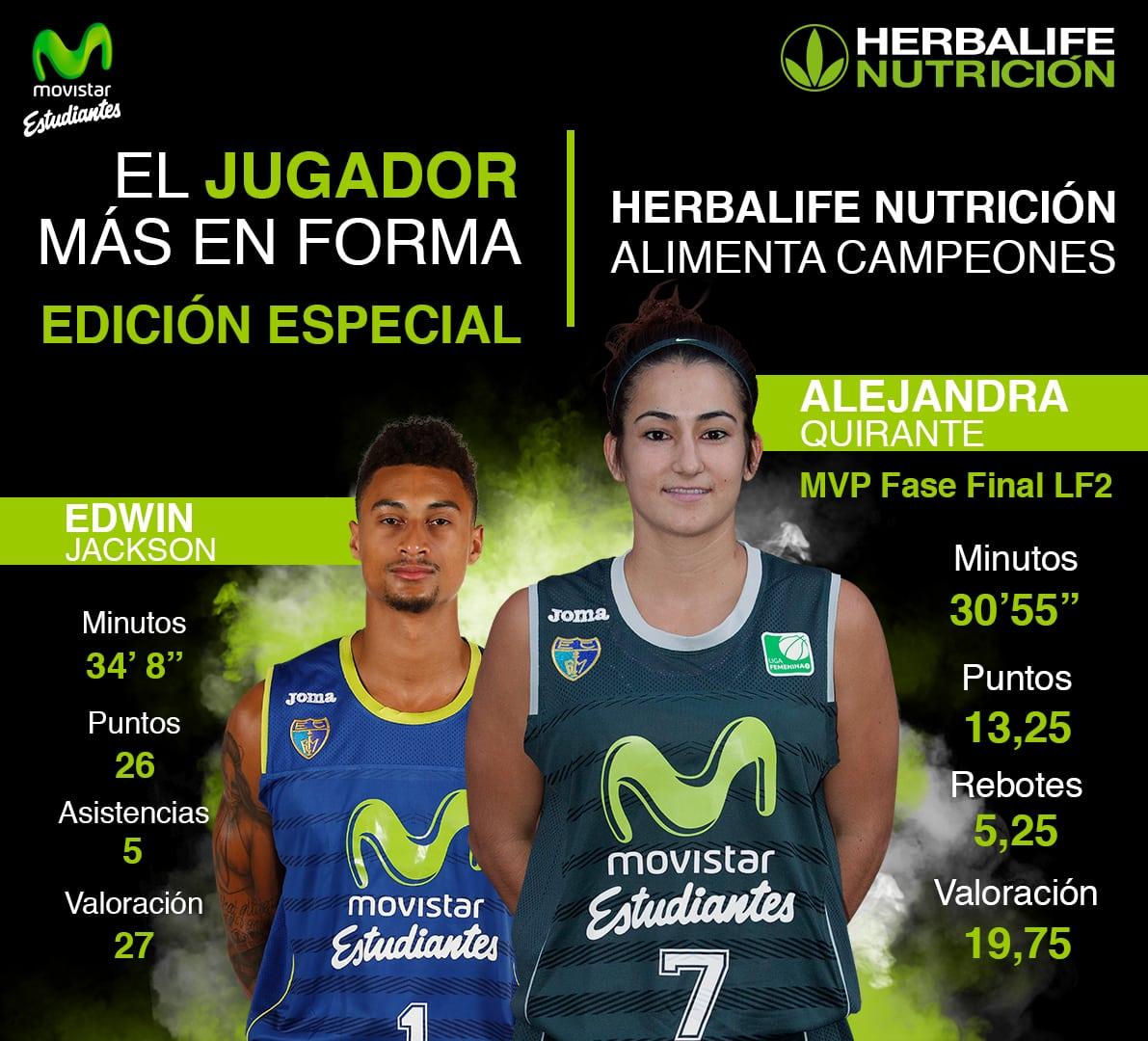 """Edición especial de """"Jugadores + en forma Herbalife"""" . Va de MVPs"""