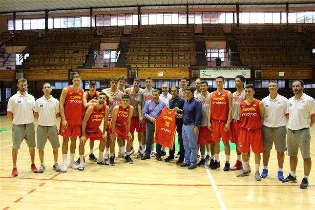 La U18M, con Alex Tamayo, recibe al seleccionador Sergio Scariolo