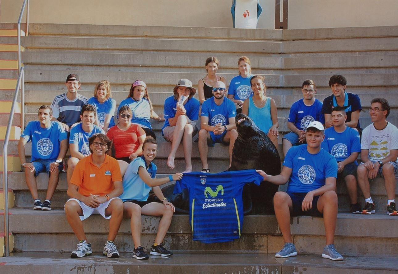 Baloncesto y muchísima diversión en el III Minicampus de Fundación Estudiantes y Terra Mítica