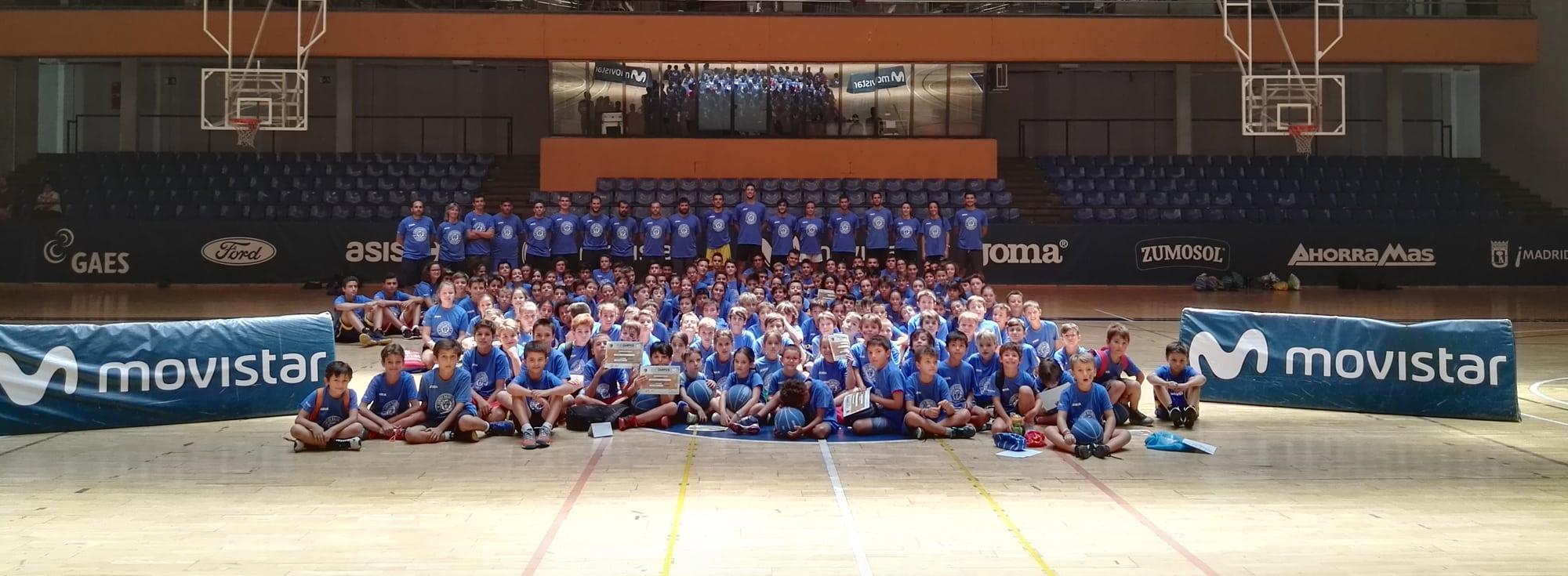 Cerca de 2000 niños y niñas han pasado por los Campus de Verano de Movistar Estudiantes