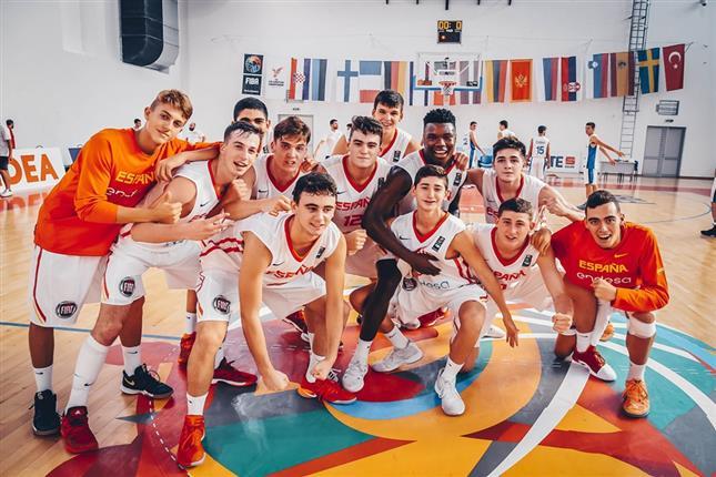 España U16M, con el estudiantil Héctor Alderete, en cuartos del Europeo