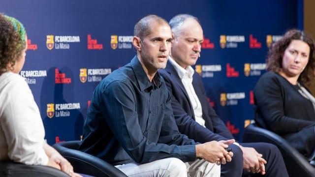 Movistar Estudiantes, en la I Jornada 'Carrera dual: Formación deportiva y académica del deportista' en La Masía del Barça