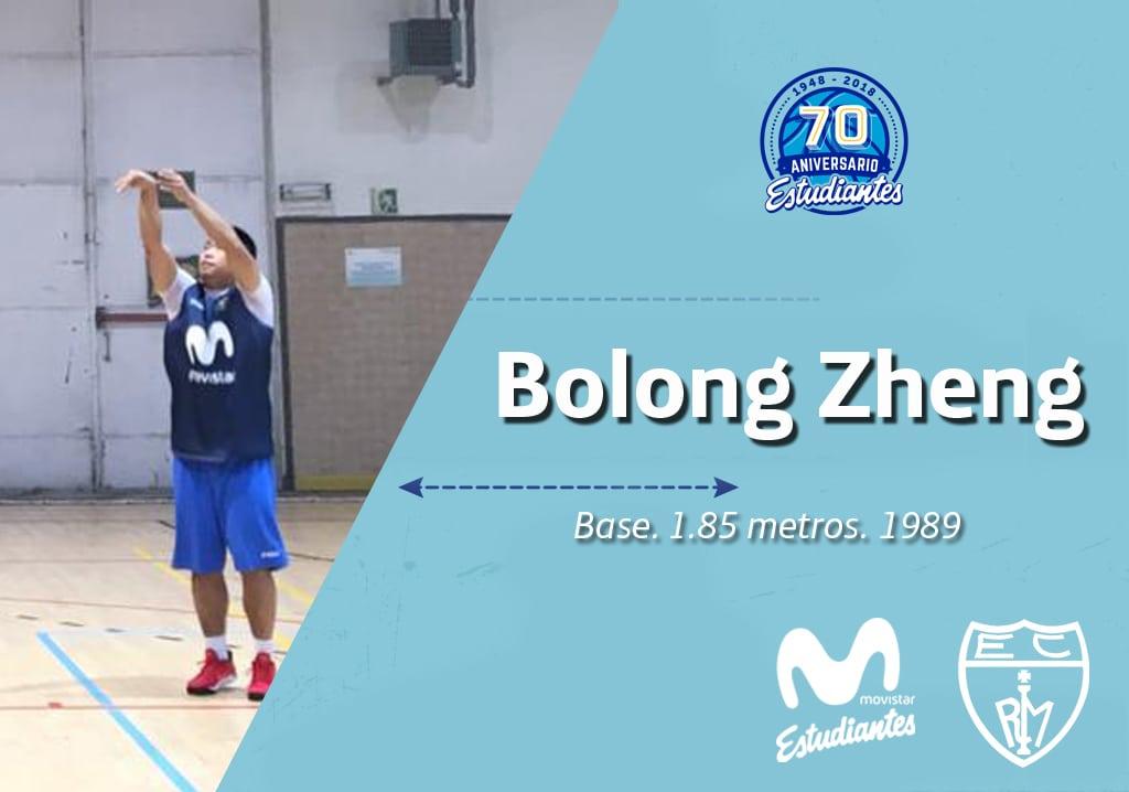 Bolong Zheng, primer jugador de nacionalidad china en Movistar Estudiantes